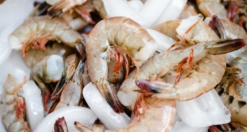 raw georgia shrimp