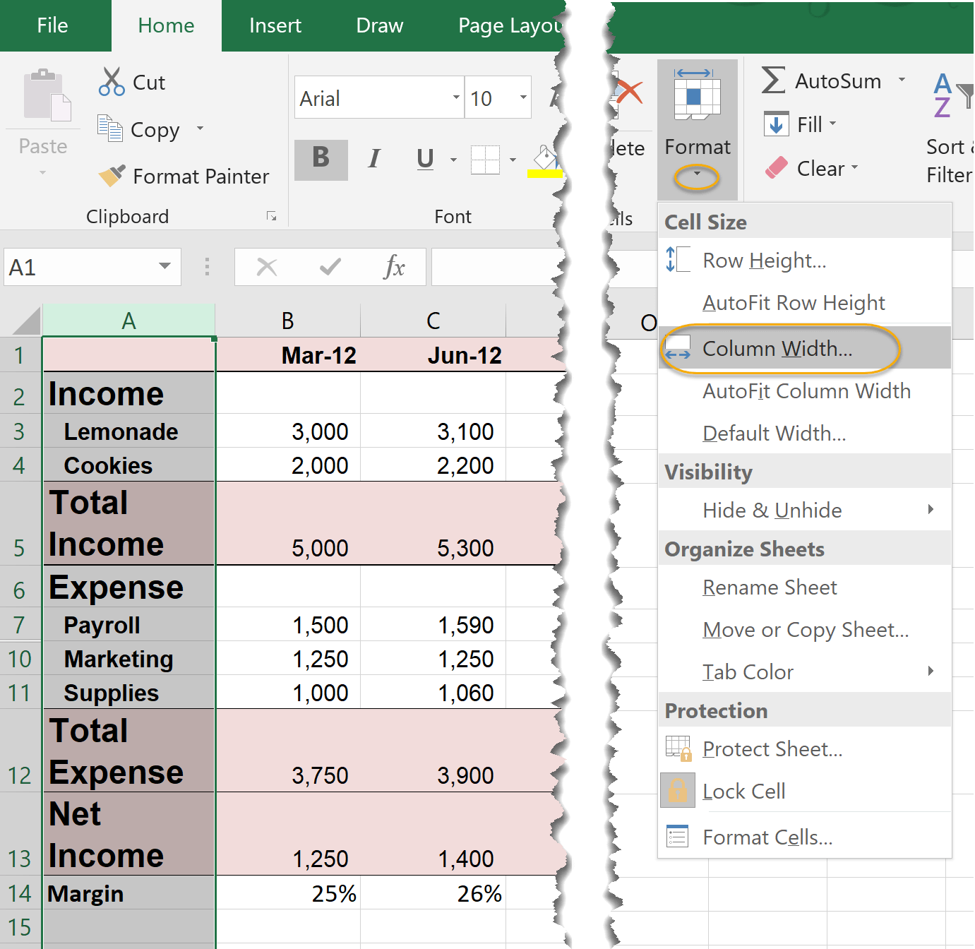Tutorial Working With Rows And Columns