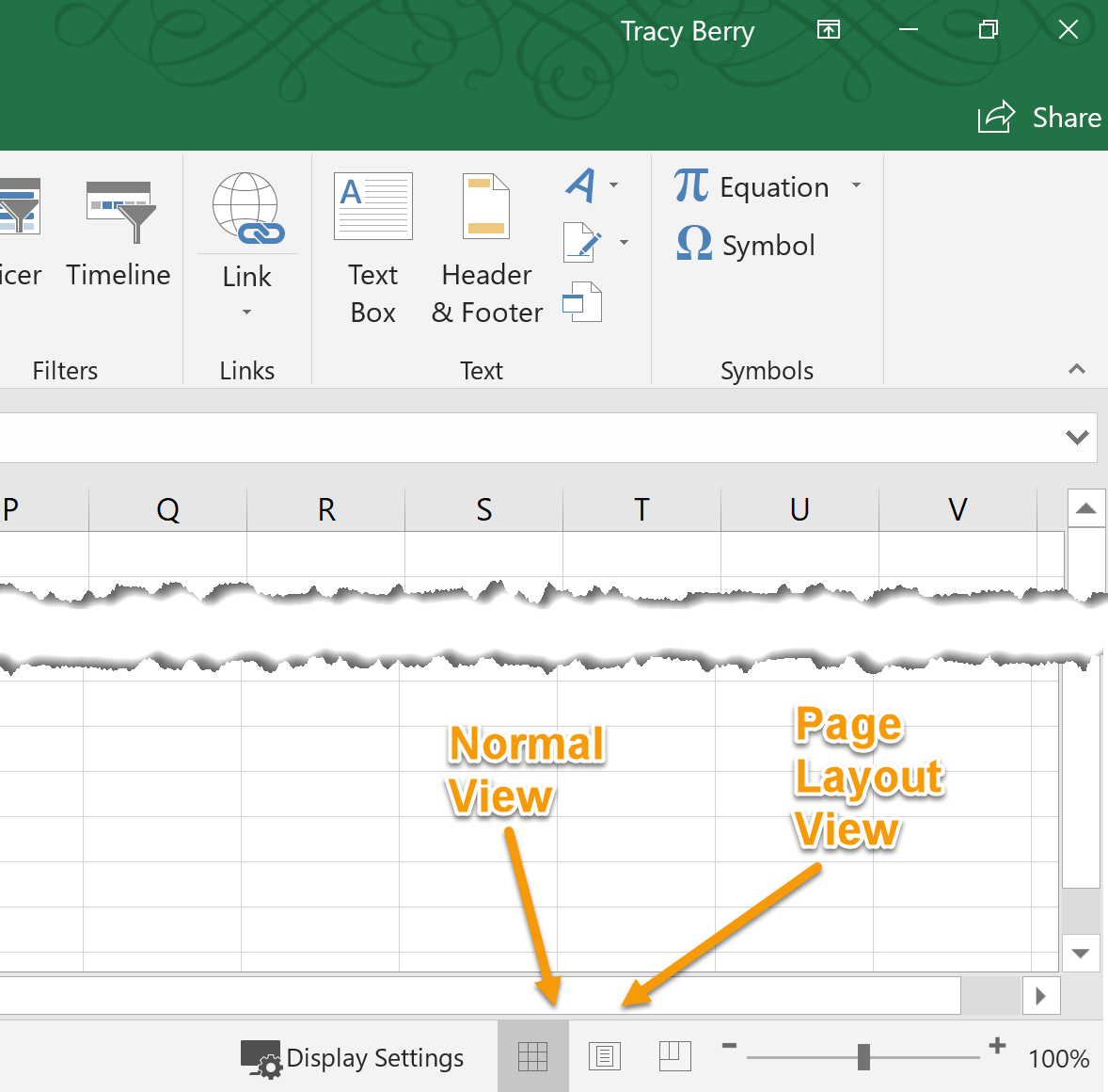 Tutorial Finalizing Microsoft Excel Worksheets