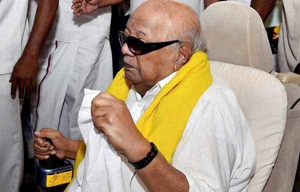 DMK Leader Karunanidhi (File Photo)