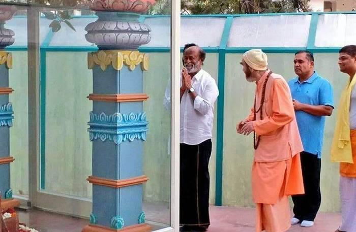 ரிஷிகேசத்தில் துறவியர்க்கு உணவு பரிமாறிய ரஜினி: 100% அரசியல்வாதியாக சிறப்பாக செயல்படவுள்ளார்!