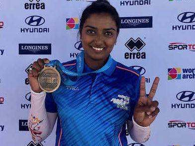 உலகக்கோப்பை வில்வித்தைப் போட்டி:  தங்கம் வென்றார் தீபிகா குமாரி