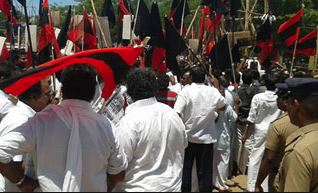 26 July20 DMK workers arrested - 1