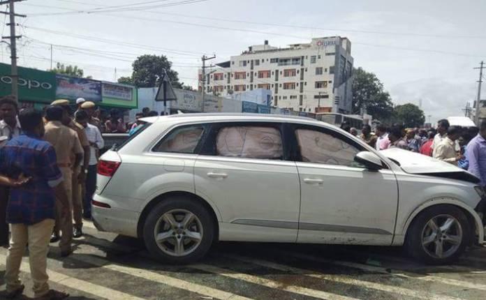 கோவையில் அதிர்ச்சி: ஆடி கார் மோதி சாலையில் நின்றிருந்த 7 பேர் உயிரிழப்பு
