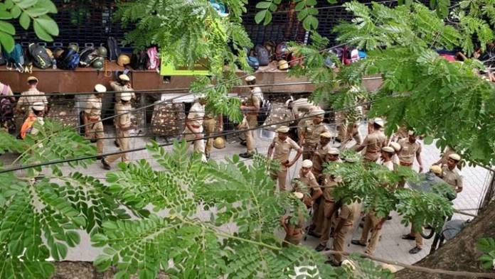 police force in egmore - 1