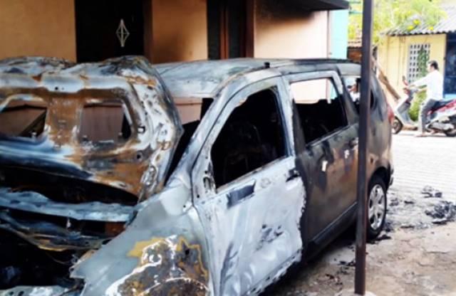 car set fire