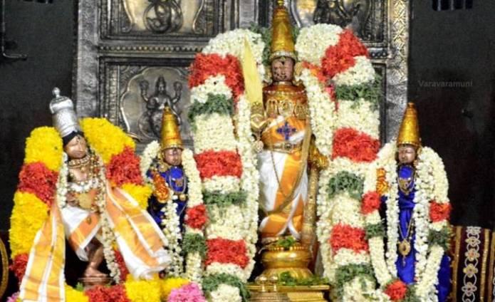 காஞ்சி பெருமாள் கோயில் ஸ்ரீஜயந்தி உத்ஸவத்தில்…!