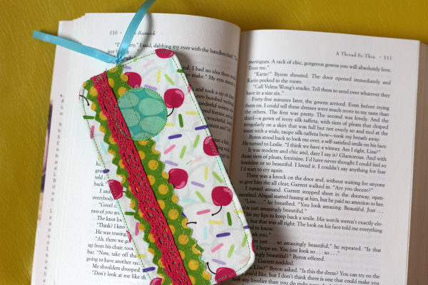Scrappy Fabric Bookmark Project And Giveaway FaveCrafts