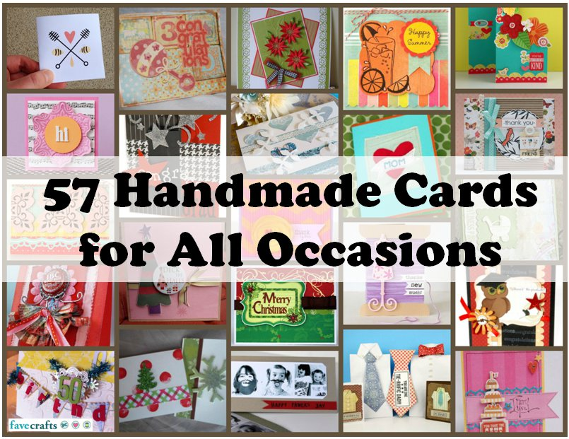 57 Cards For All Occasions FaveCrafts