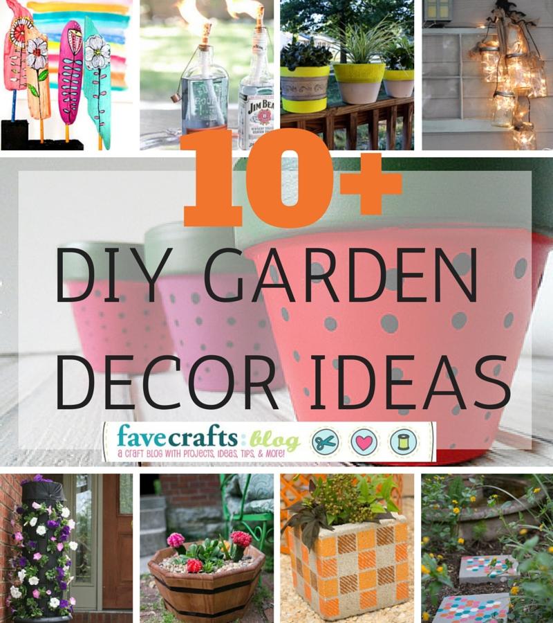 DIY Garden Decor Ideas You'll Totally Dig FaveCrafts