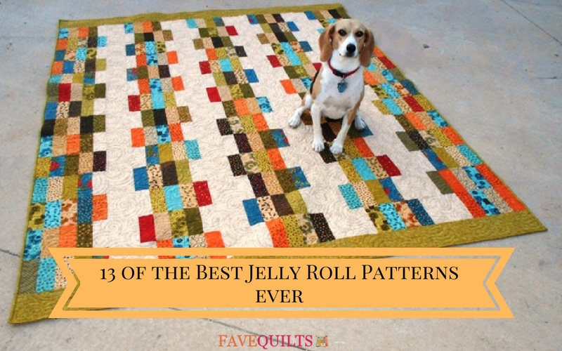 The 13 Best Jelly Roll Quilt Patterns EVER FaveCrafts