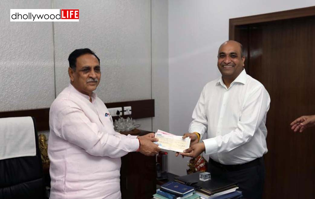 Gujarat's Poly woven Association contributes Rs 2.95 crore to the CM Relief Fund