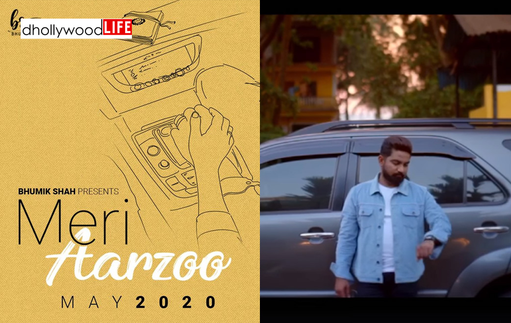 Bhumik Shah shares the teaser of his upcoming song Meri Aarzoo, song out on 3rd May!