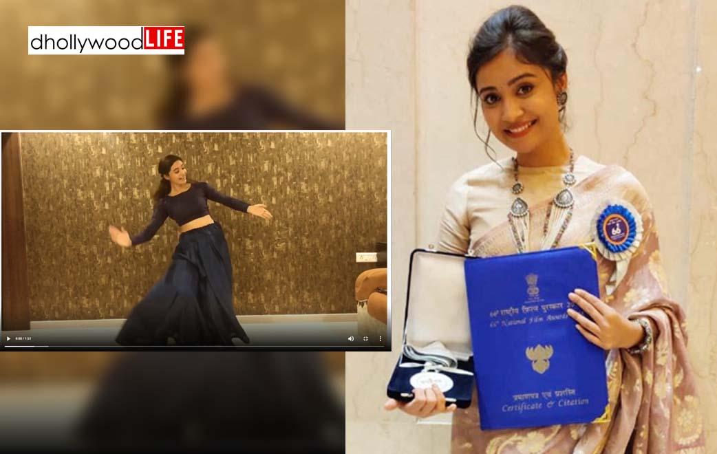 Video: a celebration of 10 million+ views of 'Vaagyo Re Dhol' on YouTube: Shraddha Dangar