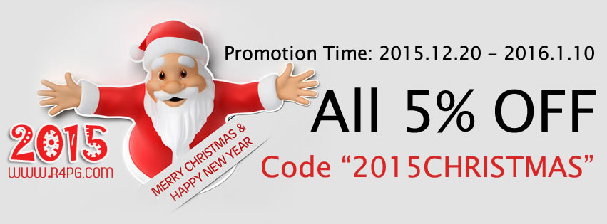 R4PG 2015 Christmas Discount