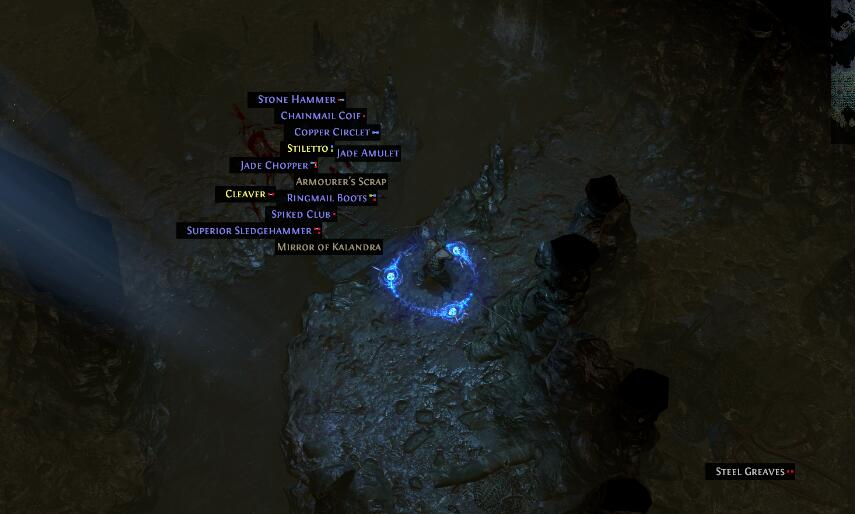 path of exile mirror