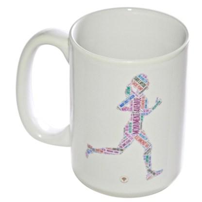 Richmond Running Woman Mug