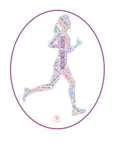 Richmond Runner Female Car Sticker