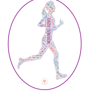 Richmond Runner Female Car Sticker