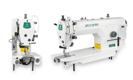 Zoje ZJ9703AR-D4J High Speed Computerized Locksitich Sewing Machine Side