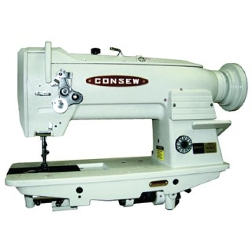 Consew 255RB-3 Heavy Duty, Single Needle, Triple Feed, Drop Feed, Needle Feed, and Alternating (Walking) Presser Feet, Lockstitch