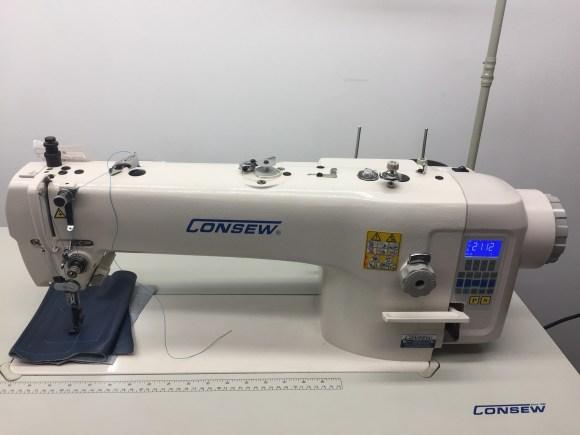 Consew 2206 Electronic Single Needle Walking Foot