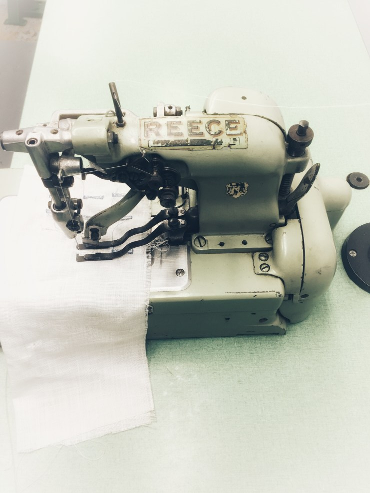 ReeceS2 Industrial Buttonhole Machines Complete with Table Stand & 110V