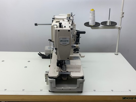 Zoje 783 Button Hole Sewing Machine Complete with Table Stand and 110 Volt Motor