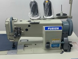 Fusion 2 Needle Walking Foot 3/8 Gauge Complete with Table Stand & 110 Volt Servo Motor