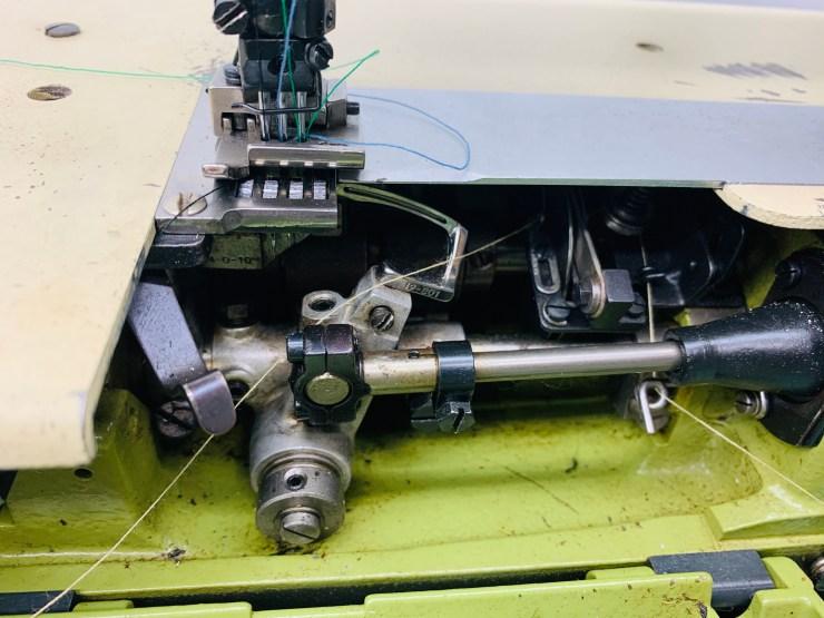 Rimoldi 261-16-2MD-02 Flat Bed 2 needle 3 Threads Coverstitch Machine