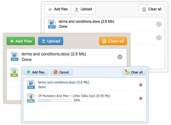 dhtmlxVault 2.0: Multiple File Uploader with Drag-and-Drop