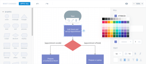 HTML5 and JavaScript Diagram Library  dhtmlxDiagram
