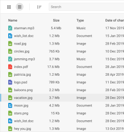 file manager with dhtmlx dataview [ 1996 x 1092 Pixel ]