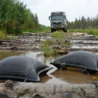 Um Gazprom drumherumm nach Norden? Feststecken im Fluss.