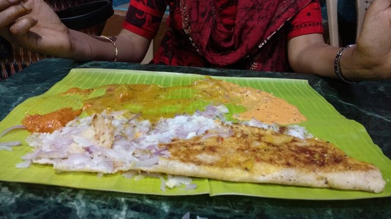Amazing food at Krishna Bhavan