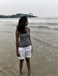 Chanchal at Palolem Beach