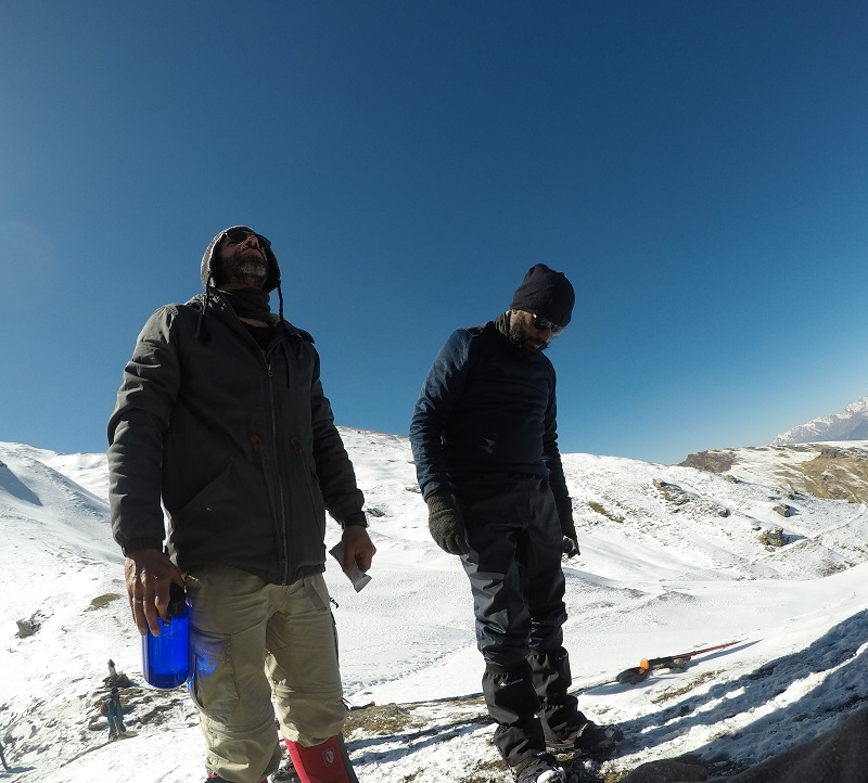 A humbling feeling at Kuari Pass