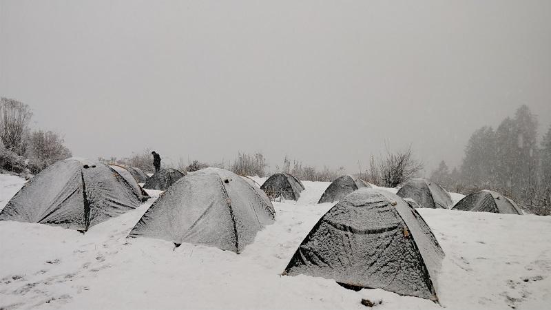 Gulling Top Camp site