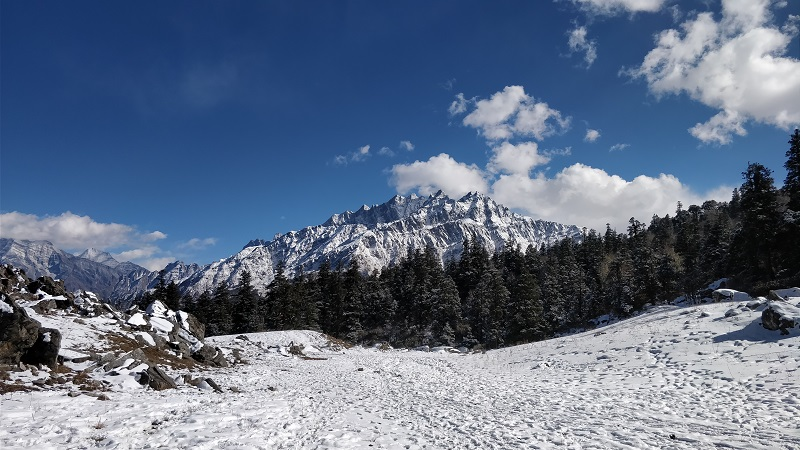 View from Khullra campsite