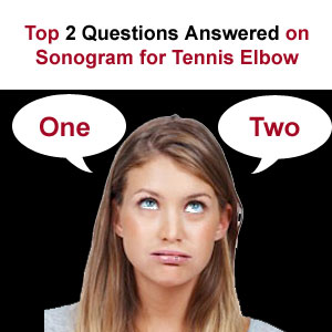 2 sonogram tennis elbow questions