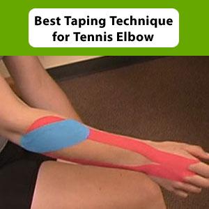 Taping Tennis Elbow