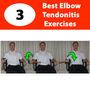 exercises for elbow tendonitis