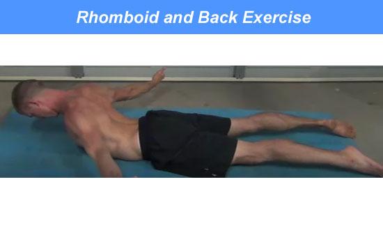 rhomboid back exercise