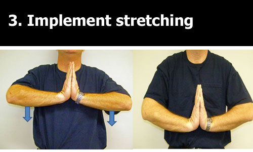 stretches for tennis elbow