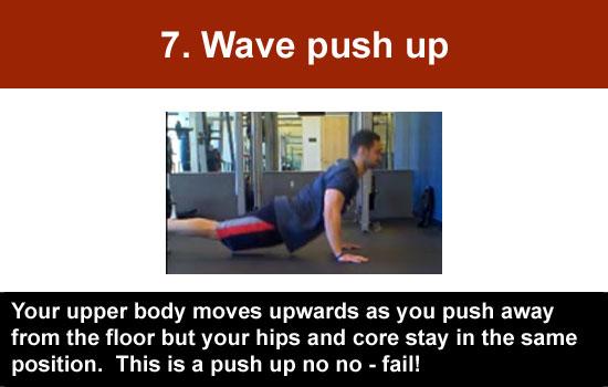 wave push up
