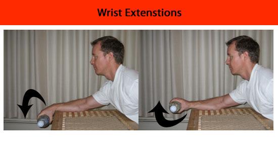 wrist extension exercise