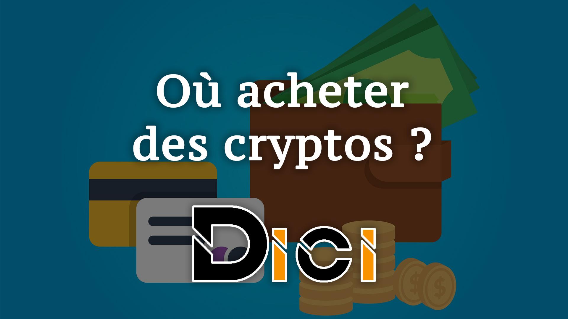 Les 5 meilleures plateformes pour cryptos<span class=