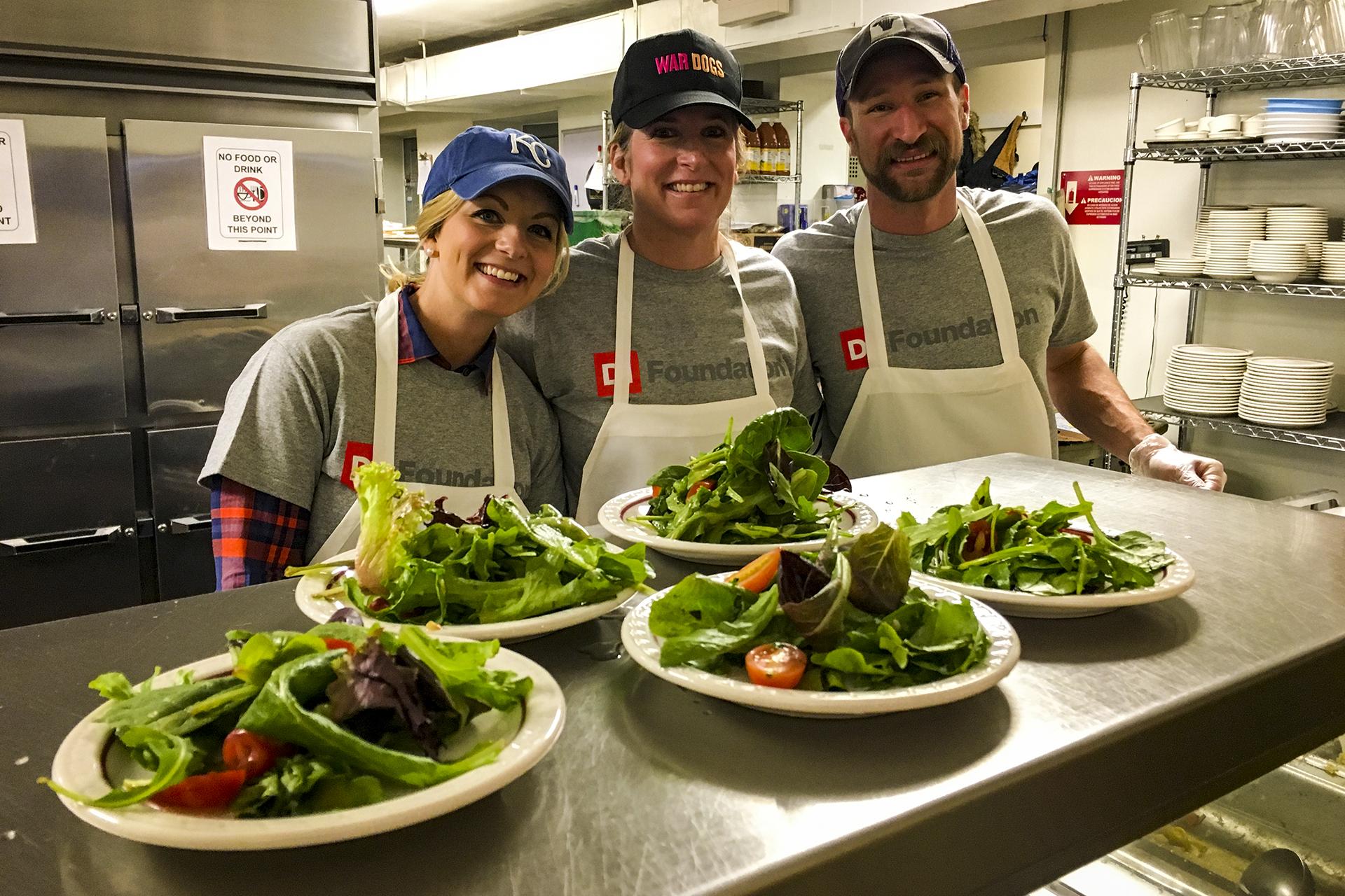 DI Volunteers at KC Community Kitchen  DI Foundation