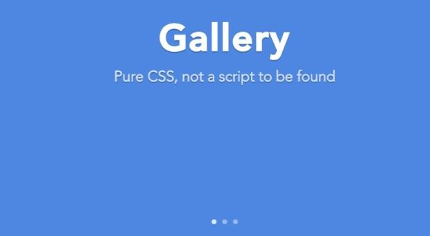 3. Галерея на CSS