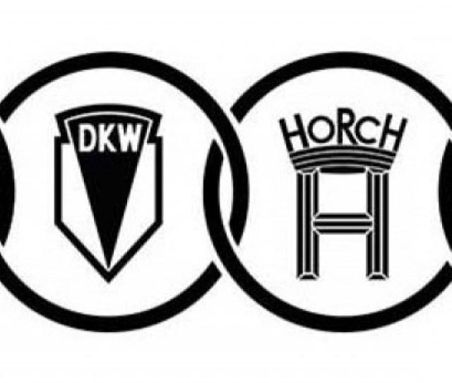 Audi Logo Original Auto Union Logos Surrounded By The Familiar Audi Rings